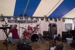100_0262 - Noisy Neighbors Band at FIREMAN'S FESTIVAL IN PEWAUKEE