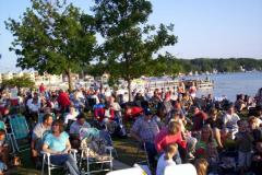 100_0471 - Noisy Neighbors Band at Pewaukee Waterfront Wednesday's