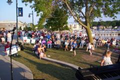 100_0472 - Noisy Neighbors Band at Pewaukee Waterfront Wednesday's