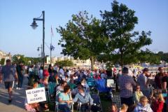 100_0475 - Noisy Neighbors Band at Pewaukee Waterfront Wednesday's