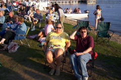 100_0476 - Noisy Neighbors Band at Pewaukee Waterfront Wednesday's