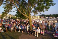 100_0482 - Noisy Neighbors Band at Pewaukee Waterfront Wednesday's