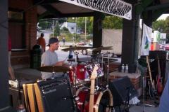 100_0488 - Noisy Neighbors Band at Pewaukee Waterfront Wednesday's