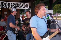 100_0489 - Noisy Neighbors Band at Pewaukee Waterfront Wednesday's