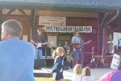 june2005-129 - Noisy Neighbors Band at Pewaukee Waterfront Wednesday's