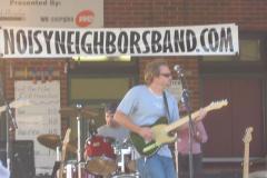 june2005-132 - Noisy Neighbors Band at Pewaukee Waterfront Wednesday's
