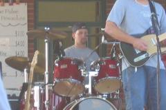 june2005-133 - Noisy Neighbors Band at Pewaukee Waterfront Wednesday's