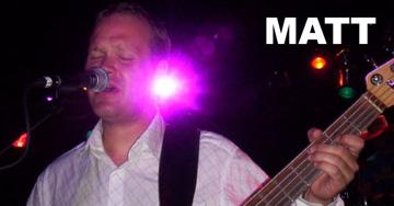 Matt - Bass for Noisy Neighbors Band