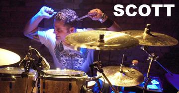 Scott - Drums for Noisy Neighbors Band